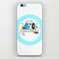 mother iPhone & iPod Skins featuring Mother  by Christopher Chouinard