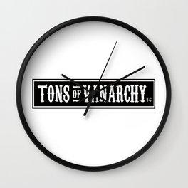 Tons of vanarchy Wall Clock
