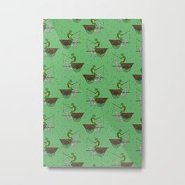 carrot on a stick (tortoise and the hare) Metal Print