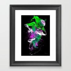 Colorize the Alien Framed Art Print