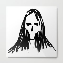 Someone Rock Metal Print