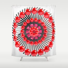 Candy pie Shower Curtain