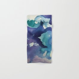 I dream in watercolor B Hand & Bath Towel