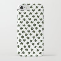 cannabis iPhone & iPod Cases featuring Cannabis by WeedPornDaily