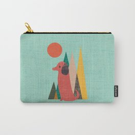 Waiting for You Dachshund Carry-All Pouch