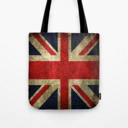 Union Jack Guitar Cotton Tote Shopping Bag