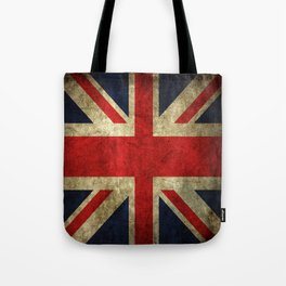GRUNGY BRITISH UNION JACK  DESIGN ART Tote Bag