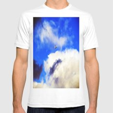 Escape MEDIUM Mens Fitted Tee White
