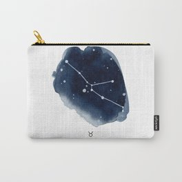 Zodiac Star Constellation - Taurus Carry-All Pouch