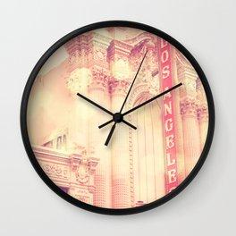 Los Angeles Theatre photograph Wall Clock