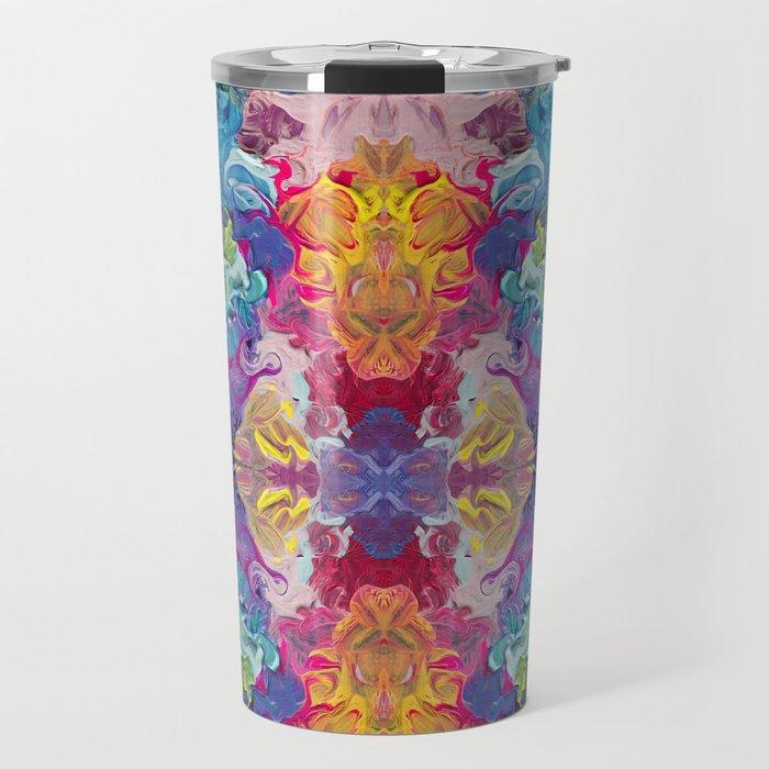 Aurora Swirls Travel Mug