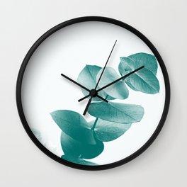 Green Eucalyptus #1 #foliage #decor #art #society6 Wall Clock
