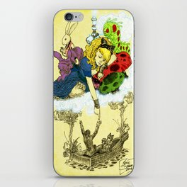 'Dreaming Alice' by Kevin C. Steele iPhone Skin