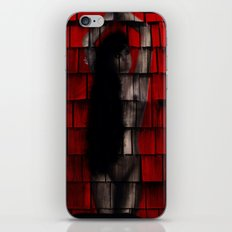 Washed Up And Left Out To Dry (Red no words) iPhone & iPod Skin