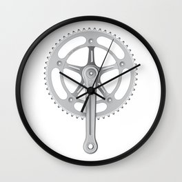 Campagnolo Track Chainset, 1974 Wall Clock