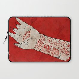 bite the hand. Laptop Sleeve