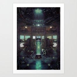 Until The Light Takes Us Art Print