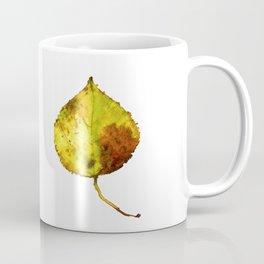 Aspen Leaf 2 Coffee Mug