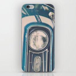 Blue Classic Camaro iPhone Skin