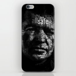 Ernest Shackleton iPhone Skin