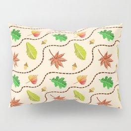 Autumn Leaf Wave Pillow Sham
