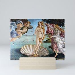 The Birth of Venus - Sandro Botticelli Mini Art Print