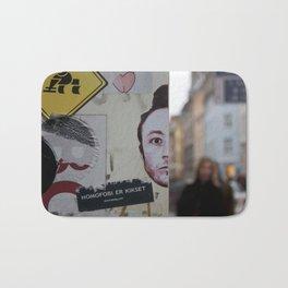 Copenhagen stickers 1 Bath Mat