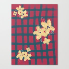 Scottish flower Canvas Print