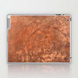 Grungy Vintage Book Cover Laptop & iPad Skin
