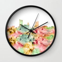 Fort Wayne Skyline Indiana Wall Clock