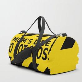 Mom's Line - Do Not Cross Duffle Bag