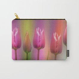 Spring time elegance (tulips) Carry-All Pouch
