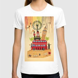 Rainbow Cities ~ London T-shirt