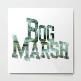 Bog Marsh Metal Print