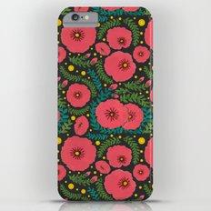 The Beautiful Pink Flowers Slim Case iPhone 6 Plus