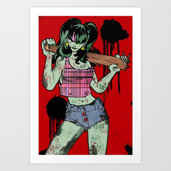 Dead Jenny Art Print