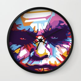 Heath Ledger print,Heath Ledger poster,Heath Ledger INSPIRED print, The Joker decor, The Joker, Pop Wall Clock