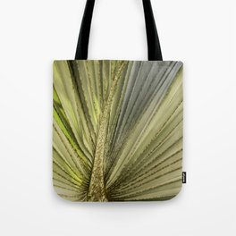 Leaf Peacock Tote Bag