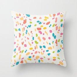 Colorful Animal Print Throw Pillow