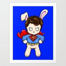 SuperBun Art Print