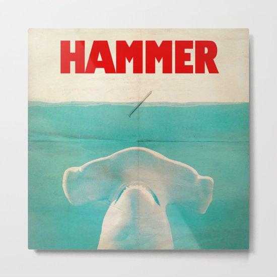 Hammer (square format) Metal Print