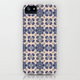 Majolica Grimani Blue iPhone Case