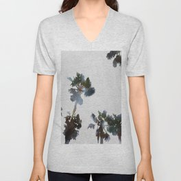 Tropical Palms Unisex V-Neck
