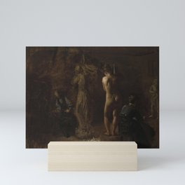 Thomas Eakins - William Rush Carving His Allegorical Figure of the Schuylkill River, Study Mini Art Print
