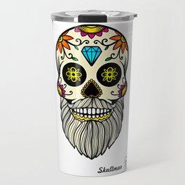 Day of the Dead Skull (18) Travel Mug