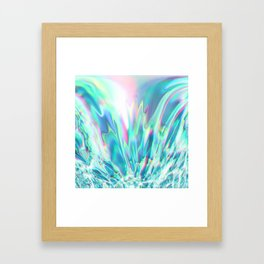 Fluid colors II Framed Art Print