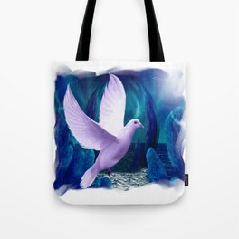 The Spiritual Realm - Dove Tote Bag