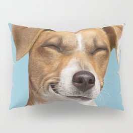 Smiling Dog (Jack Russell) Pillow Sham