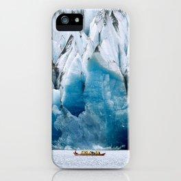 Ride to the Alaskan Glacier iPhone Case