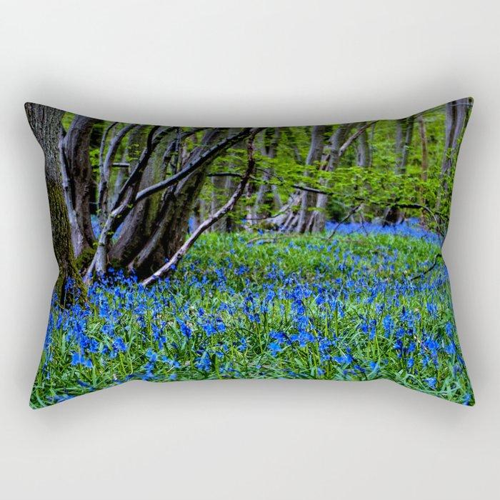 BLUE GLADE Rectangular Pillow